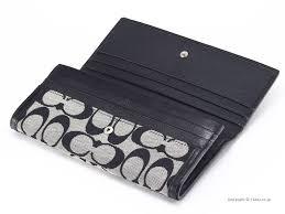 Coach purse COACH 41462 SBWBK pennies with wallet legacy signature slim  envelope