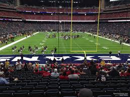 Nrg Stadium Section 117 Houston Texans Rateyourseats Com