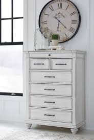 set dresser ashley b777 kanwyn bedroom set dresser mirror chest headboard