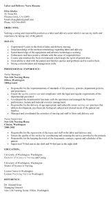 objective responsibilities as a labor and delivery nurse job description  resume - Labor And Delivery Nurse