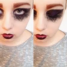striking y frightening dark angel makeup tutorial