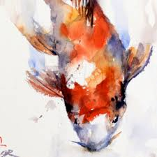 watercolor paintings of fish koi fish watercolor painting demo crafthubs
