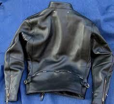 buco rider custom cream horsehide motorcycle jacket vintage crown conmar zippers