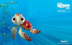 Squirt the turtle from finding nemo
