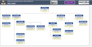 Automatic Org Chart Maker Premium Version