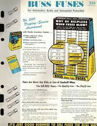 Details About Vintage Collectible 1962 Buss Fuse Catalog Insert Use Chart Ad 12 Pages