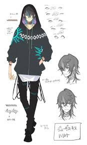 Character Designs By Noizi Ito For Judas Kiss イラスト2 男