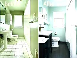 Cost To Renovate A Bathroom Extraordinary Small Bathroom Remodel Cost Touchshoot