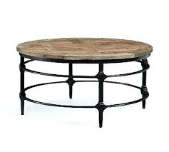 round coffee table appealing rustic with living room top perfect base diy metal