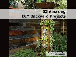 Diy Yard Projects Amazing Diy Backyard Projects 3ajpg