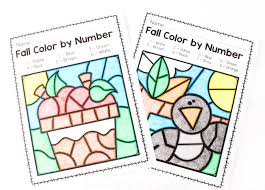 Our coloring page sheets collection is listed by subject matter to help you find what you want easily and quickly. Fall Color By Number Printables From Abcs To Acts