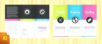 Free Online Tri Fold Brochure Template Menopauseremedy Co