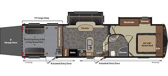 rv floor plans. Keystone Fuzion 310 Floorplan Rv Floor Plans P