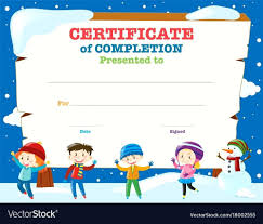 certificates of completion for kids template swimming certificate template art award free printable
