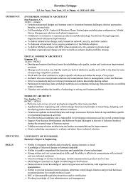 Download Mobility Architect Resume Sample as Image file