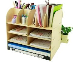home office storage boxes. Amazon.com : Menu Life Office Supplier Storage Cabinet Wooden Desk Box Pen Pencil Holder Stand (Blue) Products Home Boxes S