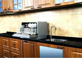 how to install a countertop dishwasher post install dishwasher granite