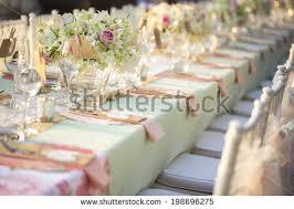 wedding reception table settings. Table Setting For An Wedding Reception Settings R