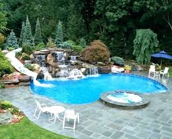 swimming pools with slides and waterfalls. Fine Pools Swimming Pool Waterfalls Kits With Waterfall  For Pools   And Swimming Pools With Slides Waterfalls N