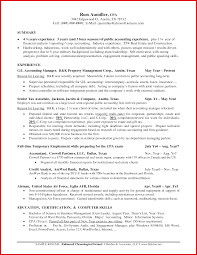 Sample Resume For Accounting Manager Unique Accounting Manager Resume Examples Wing Scuisine