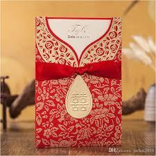 Traditional Wedding Invitation Chinese Traditional Wedding Invitations New Red Xi Personalized