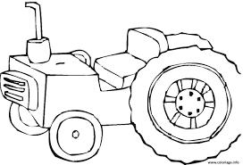 Coloriage Tracteur 3 Dessin