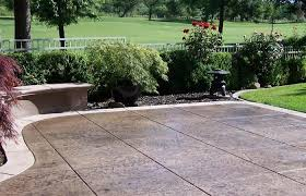 stamped concrete patio cost calculator. Concrete Patio Cost Calculator Average To Pour Install Estimate Of Installing. Colored Stamped E