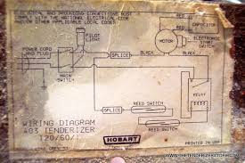 my hobart 403 won t start here is the wiring diagram