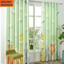 green curtains for living room. new design animal kingdom children room linen curtain cartoon curtains for living green sets e