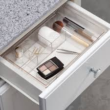 ... Drawer design, White Square Modern Plastic Makeup Organizer Drawers And Make  Up Ideas: Modern ...