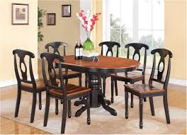 excellently black wood kitchen table sets and chairs oak wooden high back dining cool idea white