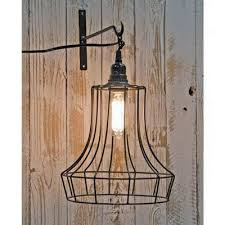 no wire lighting. Bell Shape Wire Swag Pendant Lamp No Lighting N