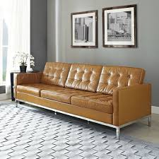 Tufted Living Room Furniture Tufted Leather Sofa Living Room Sofa Inspiration