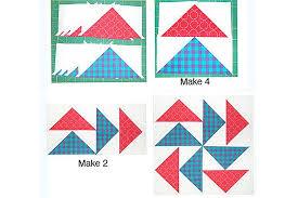Easy Quick Pieced Flying Dutchman Quilt Block Pattern & How to Make Flying Dutchman Quilt Blocks Adamdwight.com