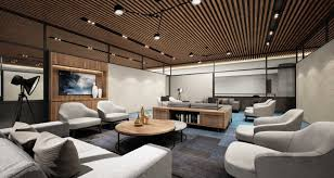 government agency office concept