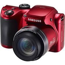 samsung camera. samsung wb100 digital camera (red)