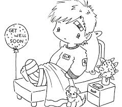 Small Picture Get Well Coloring Pages Best Coloring Pages adresebitkiselcom