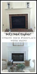 fireplace paint interior brick bq brck freplace pant heat resistant tile heat resistant paint fireplace insert black fireplce inside