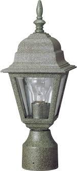 Lamp Post Lights Amazon Volume Lighting V9832 14 Cast Aluminum Outdoor Decorative