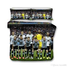 3d printed bedding football theme argentine football team bedding sets duvet cover set comforters sets duvet covers for twin beds from home8888