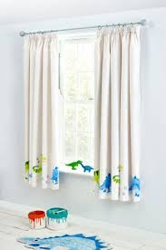 next superzoom ben the dino pencil pleat curtains