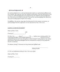 Official Documents Template Unique Notarized Document Template