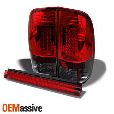 Saturn Third Brake Light Bulb Fits 97 03 F 150 Styleside Red Smoked Led Tail Lights Red Led 3rd Brake Lamp