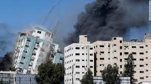 Media offices destroyed by Israeli airstrike in Gaza - CNN
