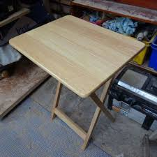 making a folding table stable folding