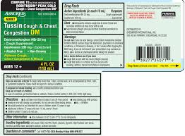 Tussin Dm Cough And Chest Congestion Liquid Assured