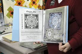 jannilou creations technique of the month glacier star  3 ring binder