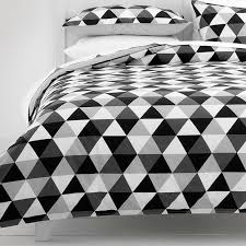 Monochrome Triangles Quilt Cover Set | Target Australia | Modern ... & Triangles Quilt Cover Set - Black / Grey – Target Australia - love this Lee  and the one in yellow! Adamdwight.com