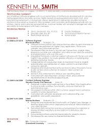 Experience Resume Examples Software Engineer Professional Software Engineer Templates to Showcase Your Talent 41