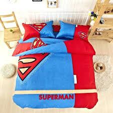 new arrival hero superman bedding set king size kids batman bed quit cover captain linen no